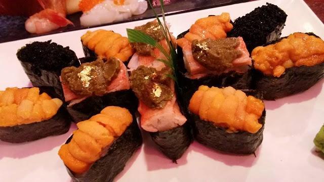 加太贺 花之恋 刺身 寿司 串烧 炸物 天妇罗 三文鱼 帆立贝 海胆 好有