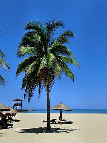 海南岛三亚阳光与海滩