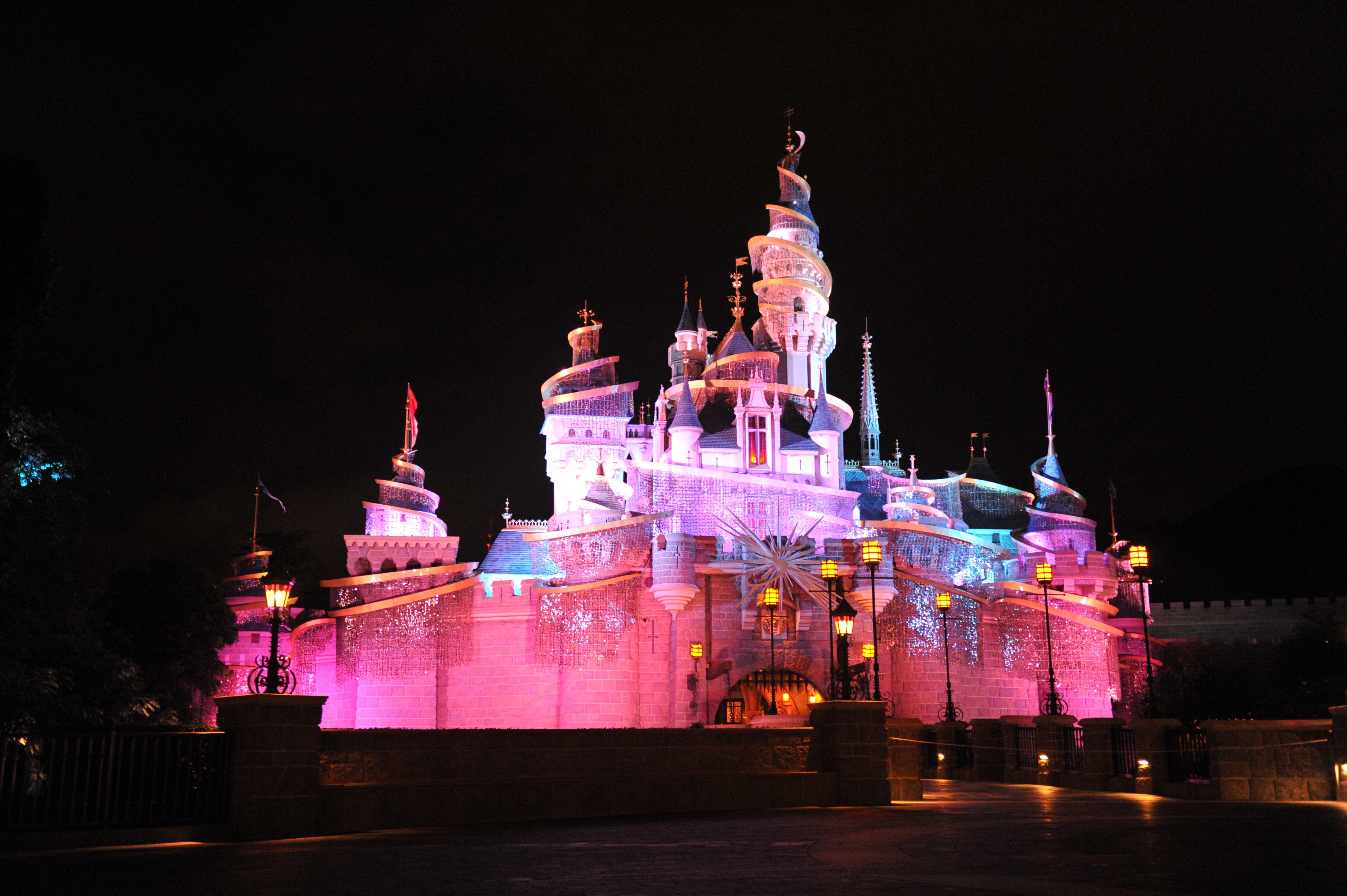 夜游迪士尼 - 主题公园