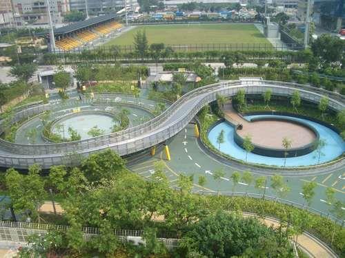 九龍灣公園單車場