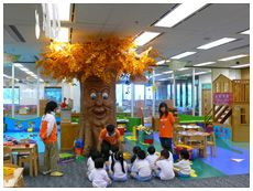 玩具圖書館(香港中央圖書館二樓)