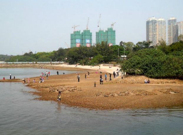 烏溪沙沙灘 - 海之心