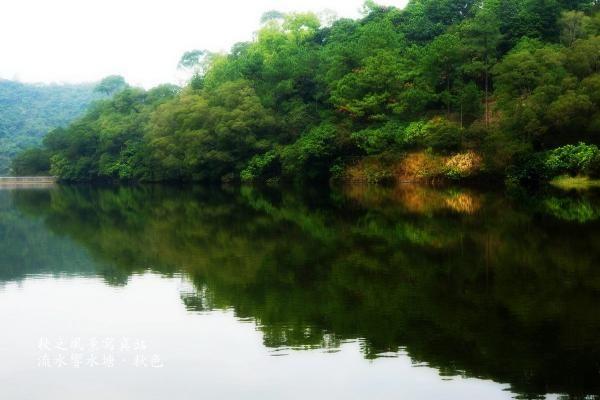 流水響水塘
