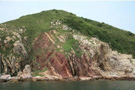 中國香港世界地質公園 (赤洲-黃竹角咀景區)