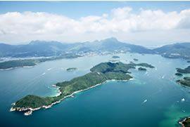 中國香港世界地質公園 (橋咀洲)