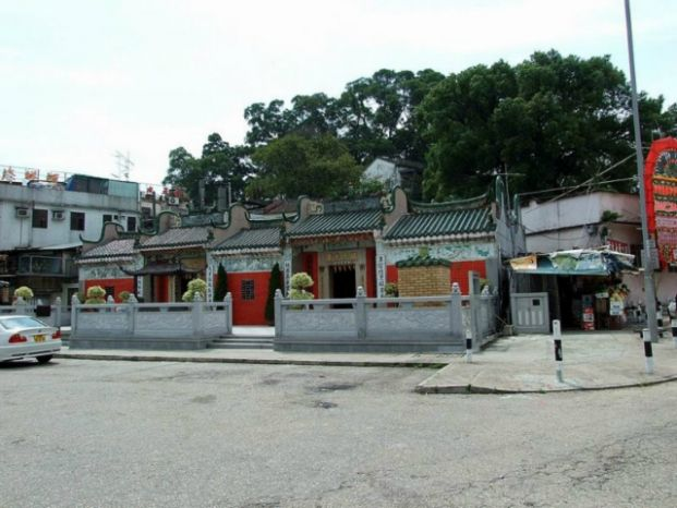 西貢墟天后廟及協天宮