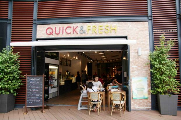 Quick and Fresh Wellness Cafe