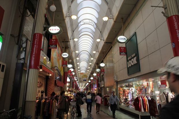 天神橋筋商店街 Tenjinbashi Shotengai Shopping Street