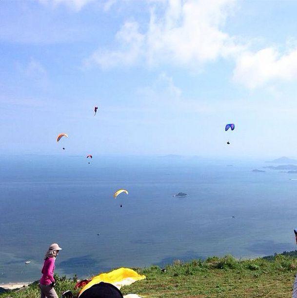 香港滑翔傘體驗課程 想飛?就係咁簡單