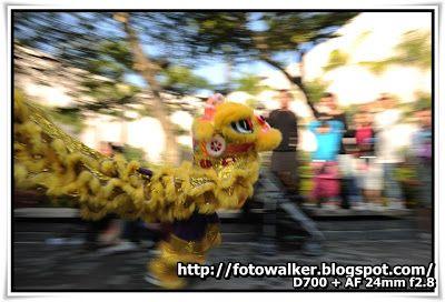 香港龍獅節 (每年的1月1日)