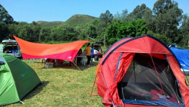 上水馬草壟汽車露營營地
