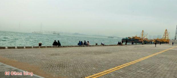 堅彌地城新海旁