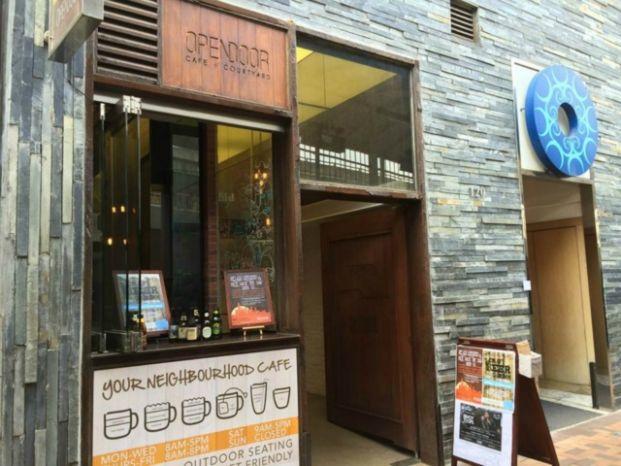 Opendoor Cafe + Courtyard