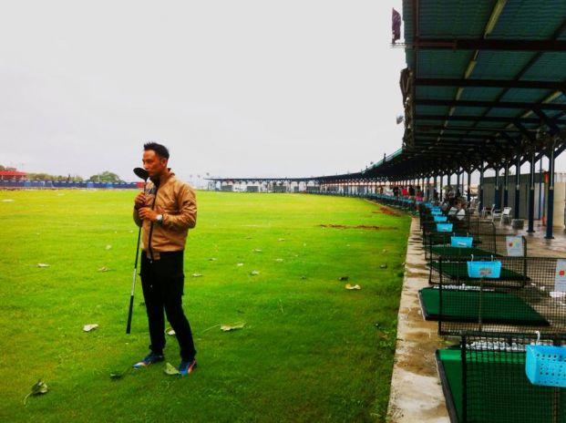 白石高爾夫球練習場
