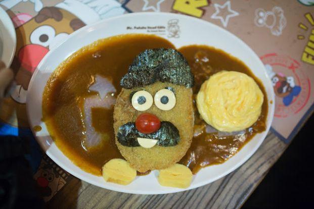 薯蛋頭先生主題Café Mr. Potato Head Café (Izumi Curry)