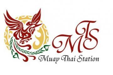 圆形泰拳logo
