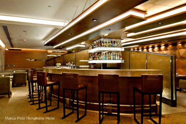 馬哥孛羅香港酒店大堂酒廊
