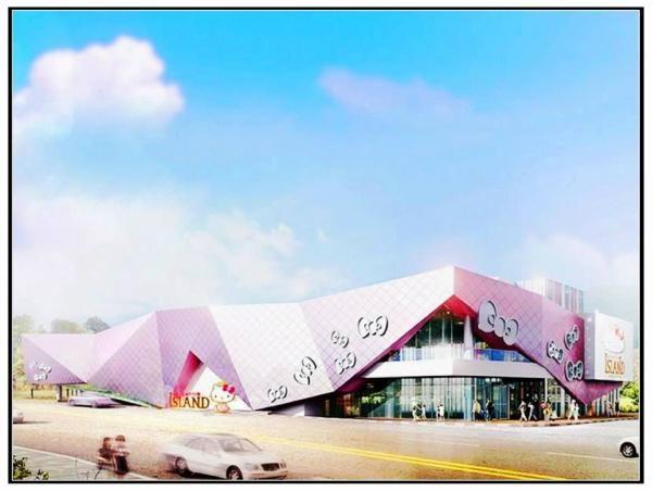 Hello Kitty登陸濟州島 主題樂園
