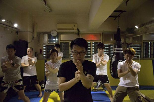 詠春尹鵬飛拳術會