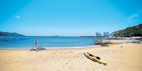 洪聖爺灣泳灘
