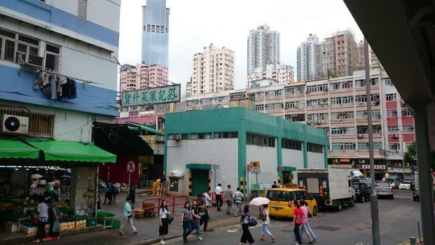 荃灣香車街街市熟食中心
