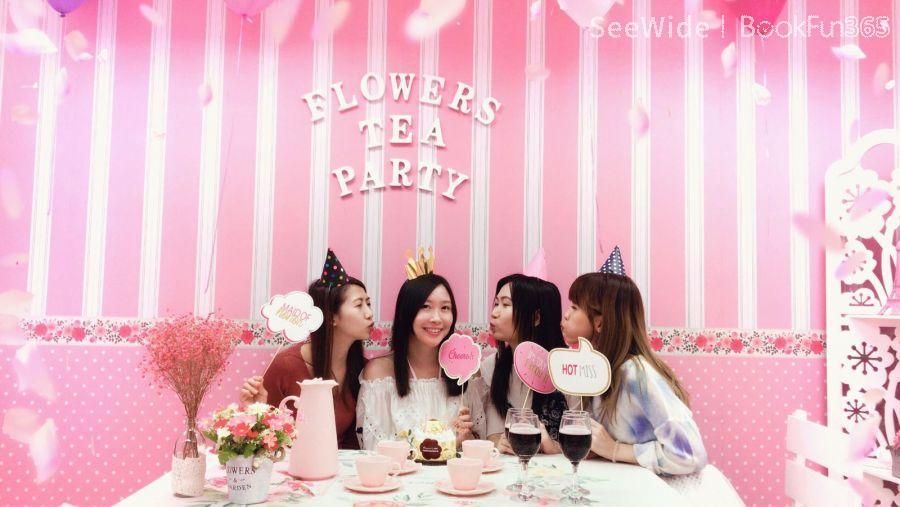 Flowers Tea Party