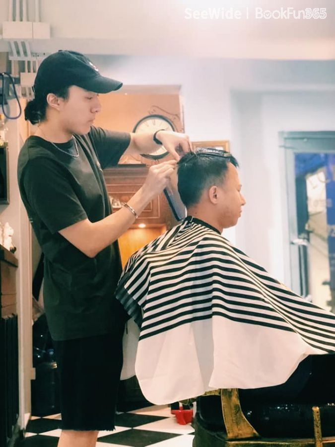 Fendi Barber Shop HK (銅鑼灣店)